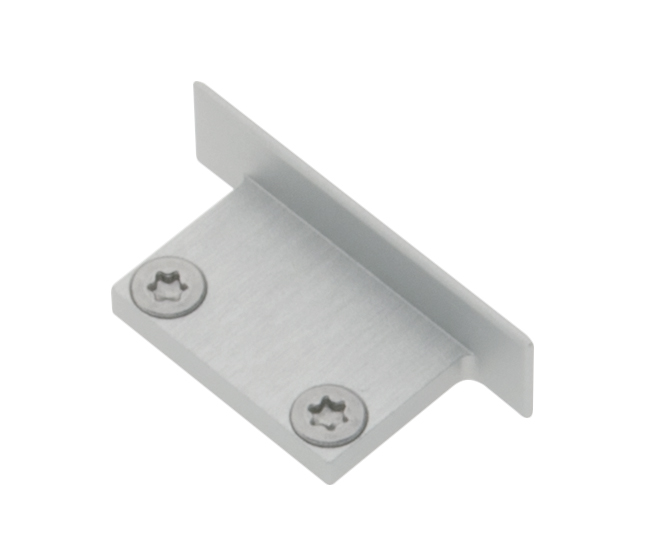1 Stk Profil Endkappe LBJ Flach geschlossen inkl. Schrauben LIEK001900