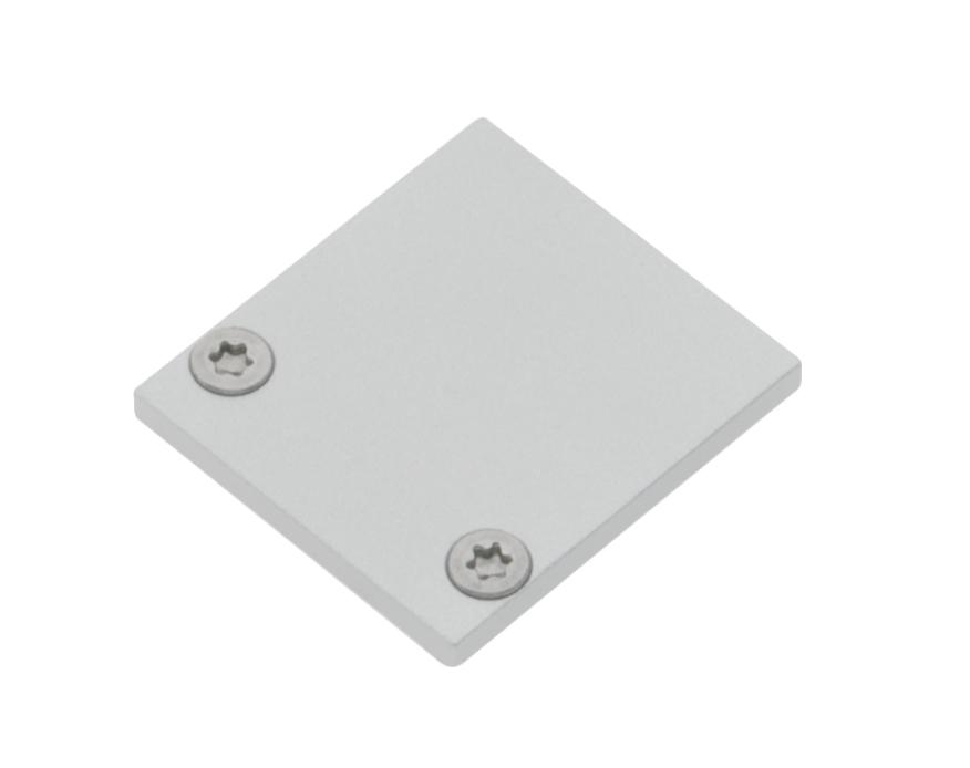 1 Stk Profil Endkappe TBK Eckig geschlossen inkl. Schrauben LIEK002020