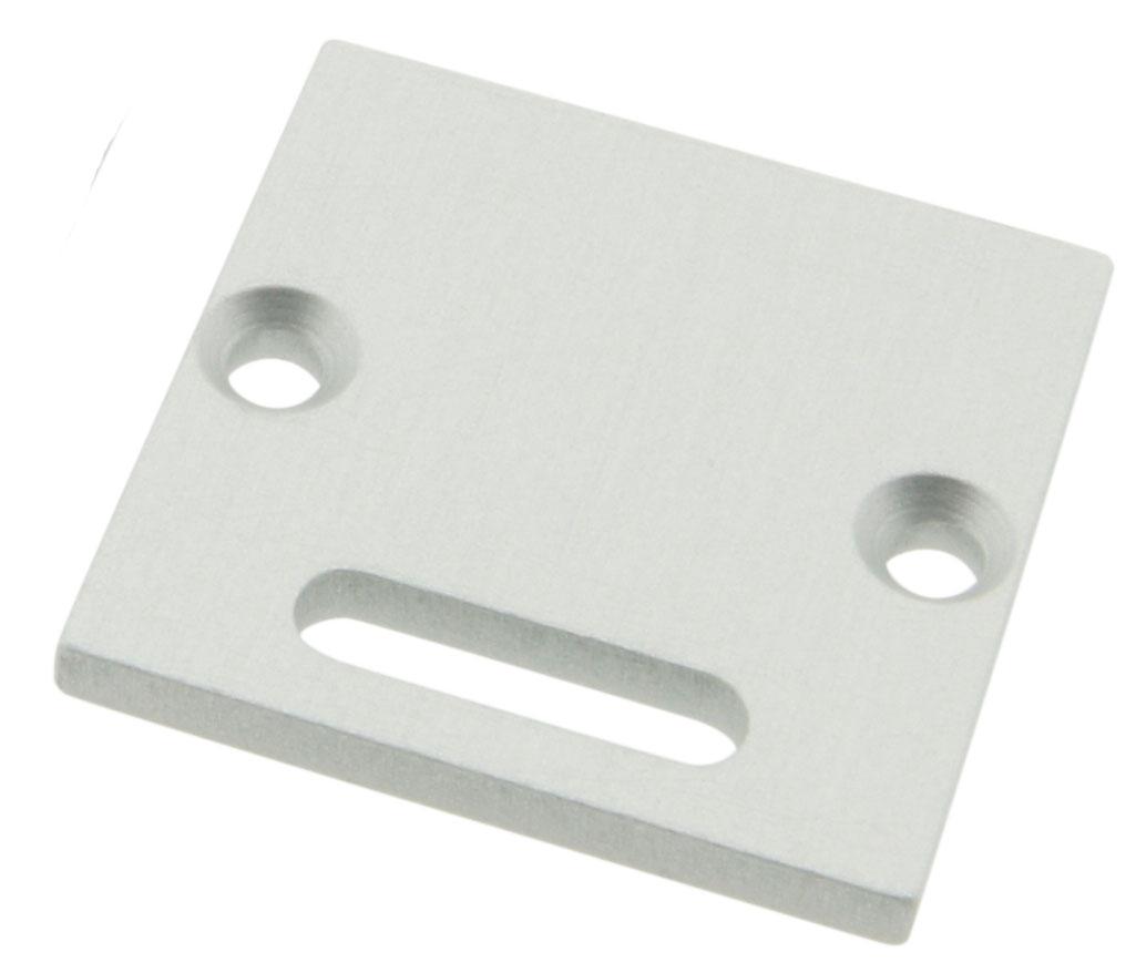 1 Stk Profil Endkappe TBR flach mit Langloch LIEK002201