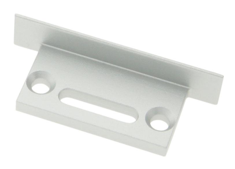 1 Stk Profil Endkappe TBU Flach mit Langloch LIEK002401