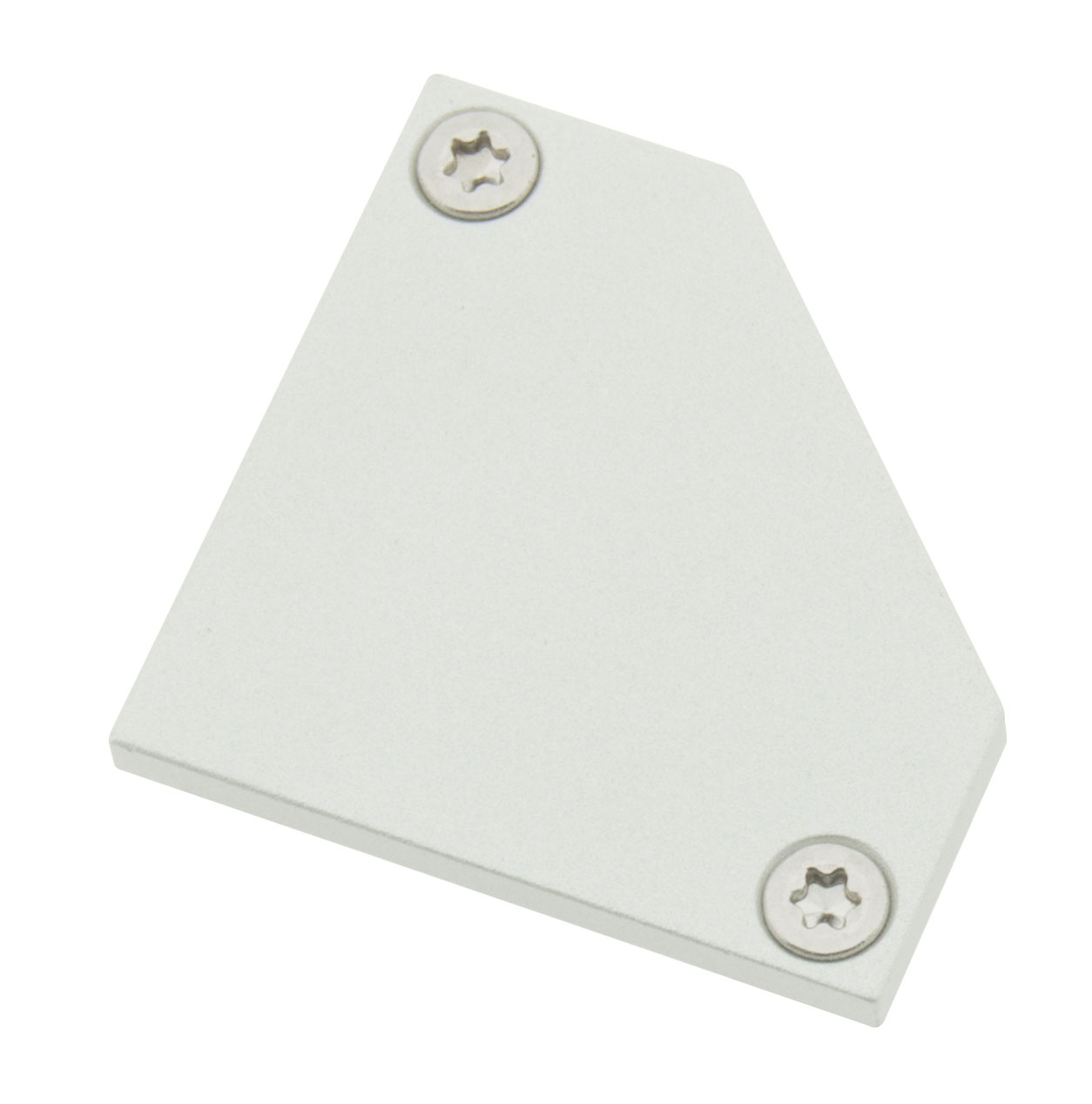1 Stk Profil Endkappe TBE Flach geschlossen inkl. Schrauben LIEK002600