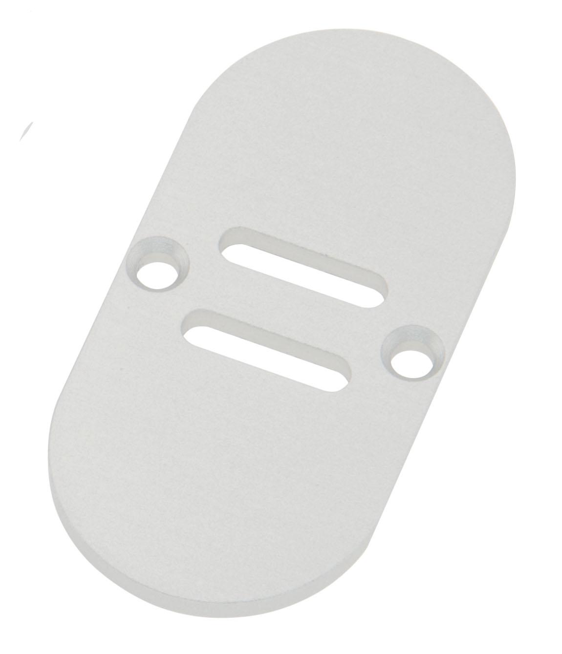 1 Stk Profil Endkappe TBH Rund mit Langloch inkl. Schrauben LIEK002711