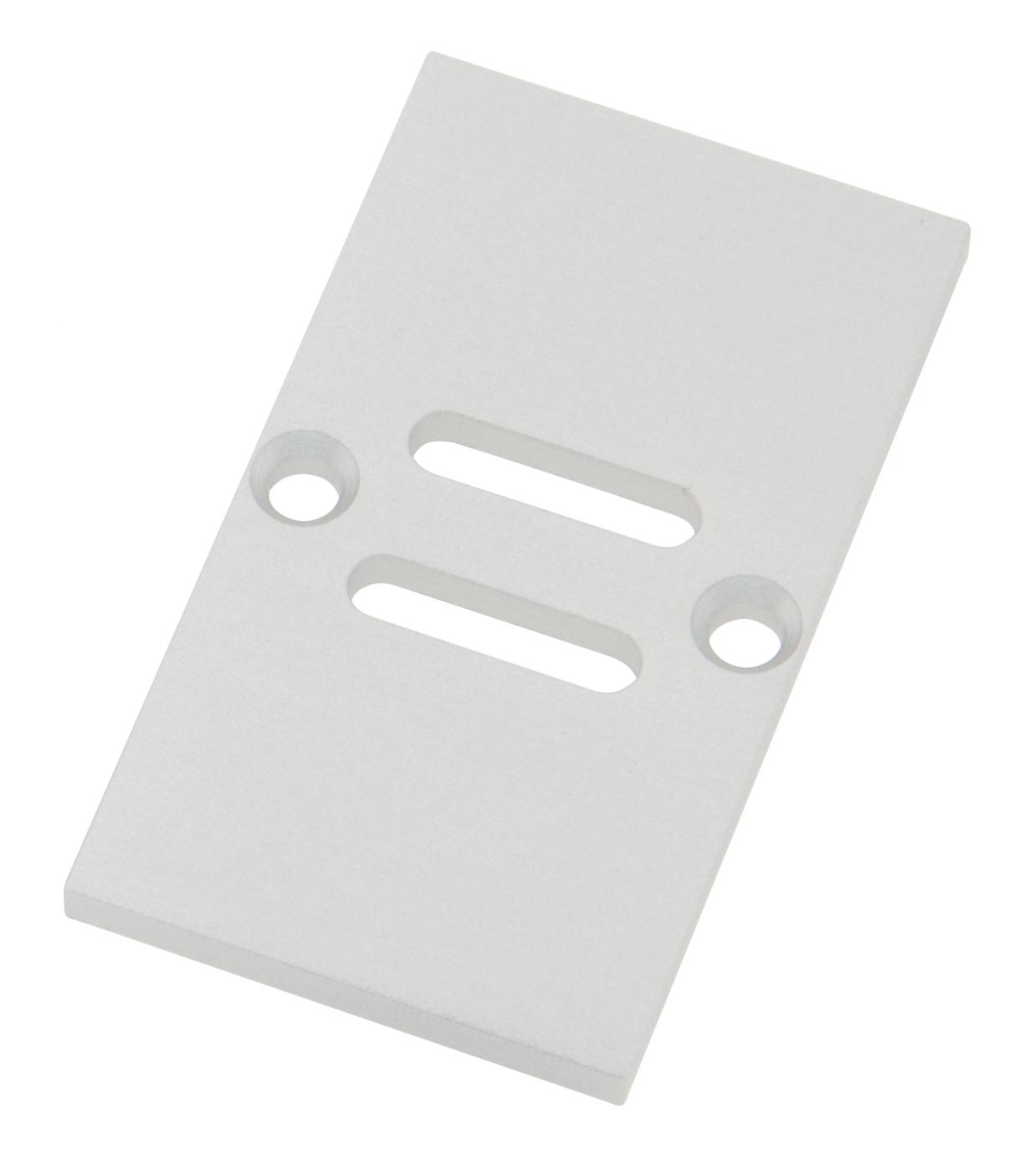1 Stk Profil Endkappe TBH Eckig mit Langloch inkl. Schrauben LIEK002721