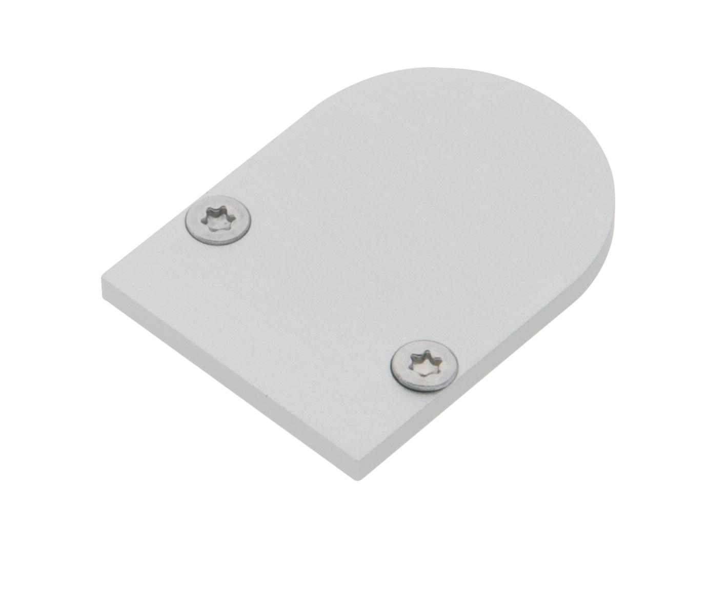 1 Stk Profil Endkappe TBL Rund geschlossen inkl. Schrauben LIEK002810