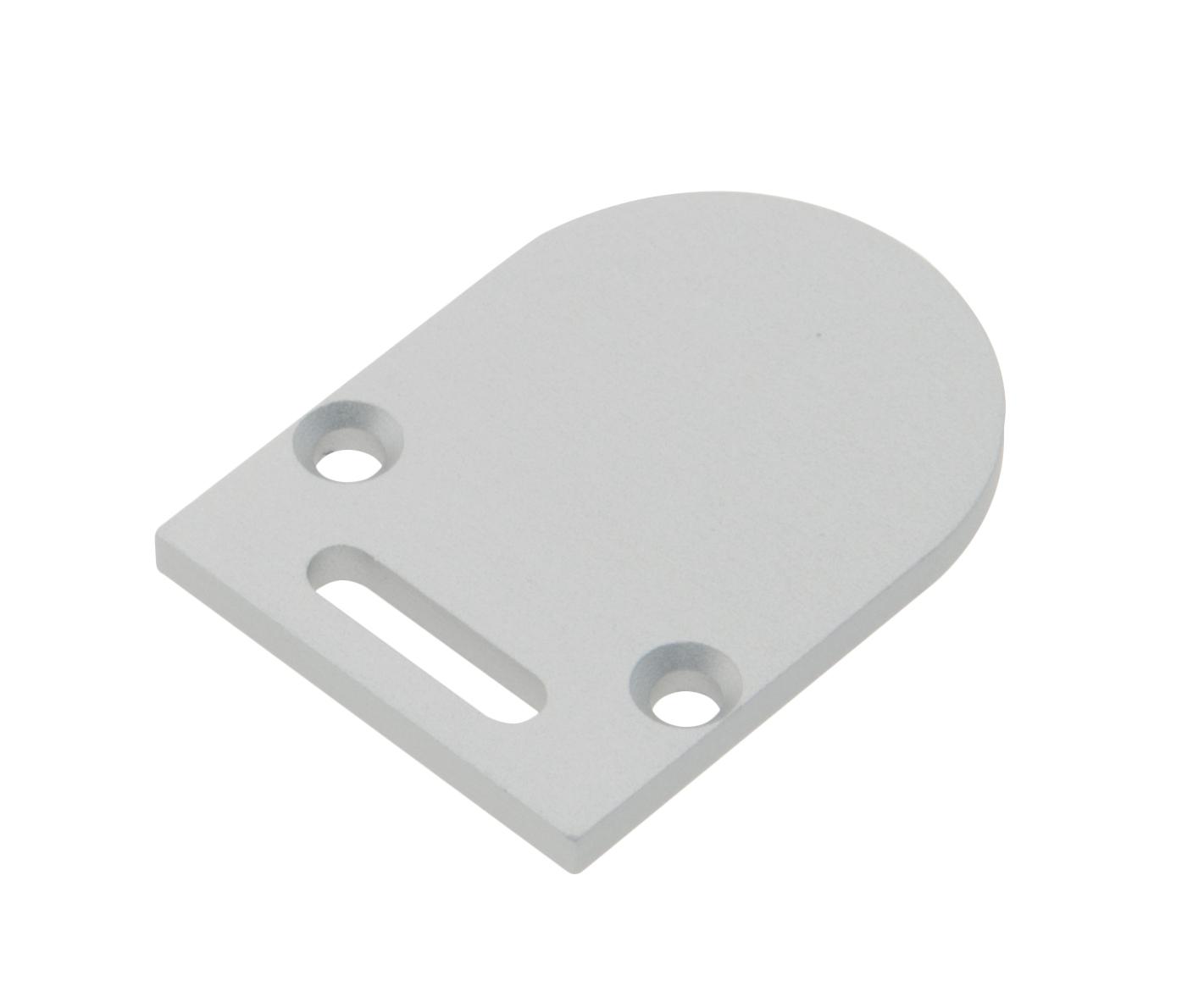 1 Stk Profil Endkappe TBL Rund mit Langloch inkl. Schrauben LIEK002811
