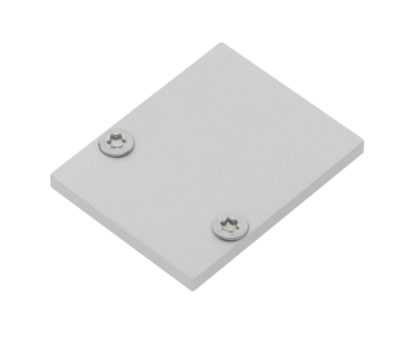 1 Stk Profil Endkappe TBL Eckig geschlossen inkl. Schrauben LIEK002820