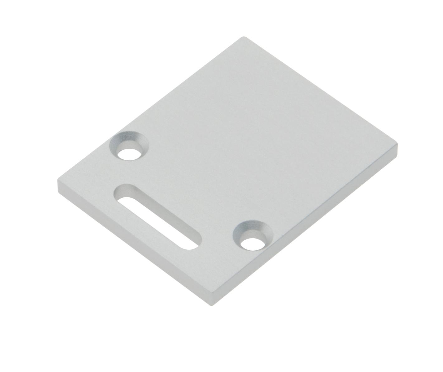 1 Stk Profil Endkappe TBL Eckig mit Langloch inkl. Schrauben LIEK002821