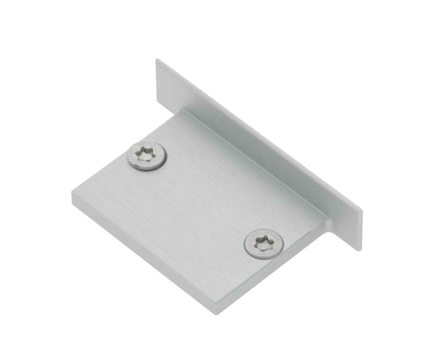 1 Stk Profil Endkappe TBJ Flach geschlossen inkl. Schrauben LIEK002900
