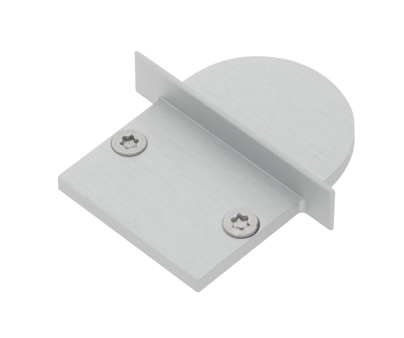 1 Stk Profil Endkappe TBJ Rund geschlossen inkl. Schrauben LIEK002910