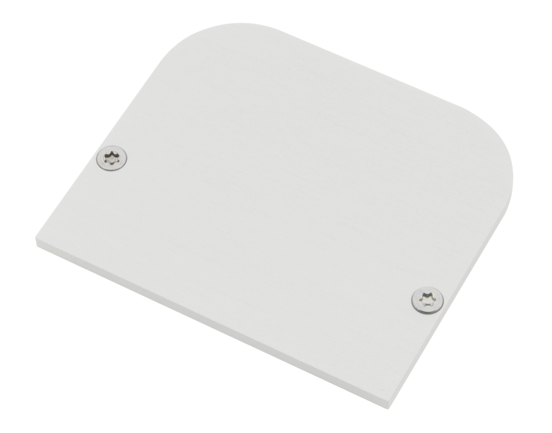 1 Stk Profil Endkappe SLA Rund geschlossen inkl. Schrauben LIEK003210
