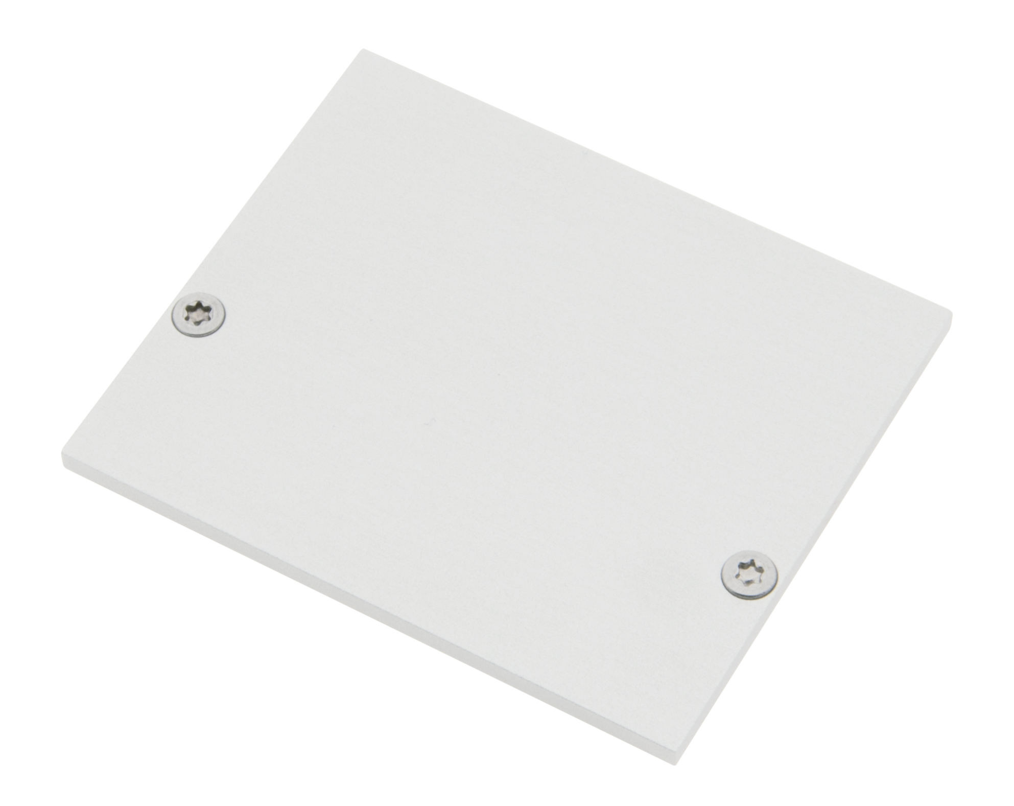 1 Stk Profil Endkappe SLA Eckig geschlossen inkl. Schrauben LIEK003220