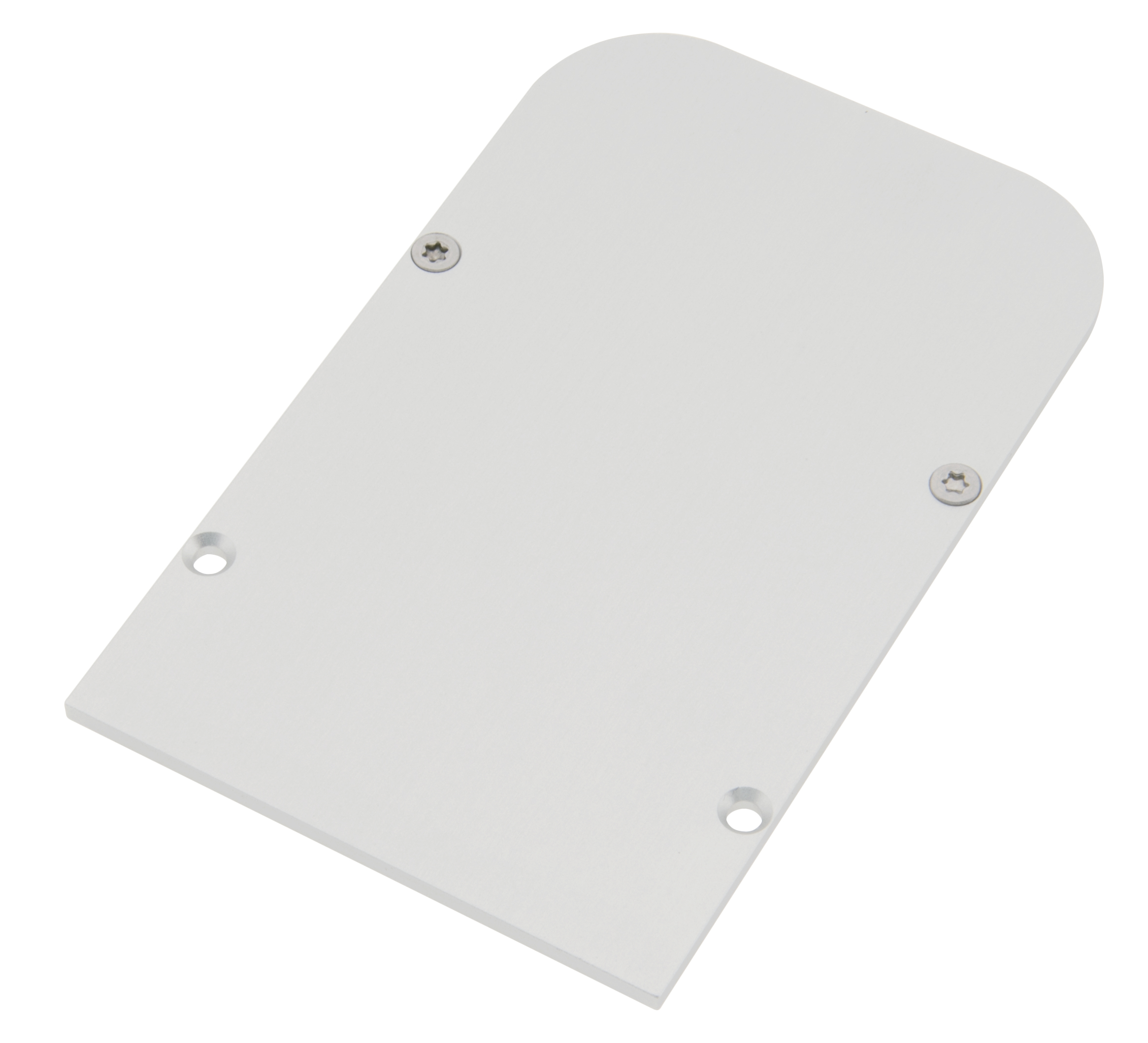1 Stk Profil Endkappe SLH Rund geschlossen inkl. Schrauben LIEK003410