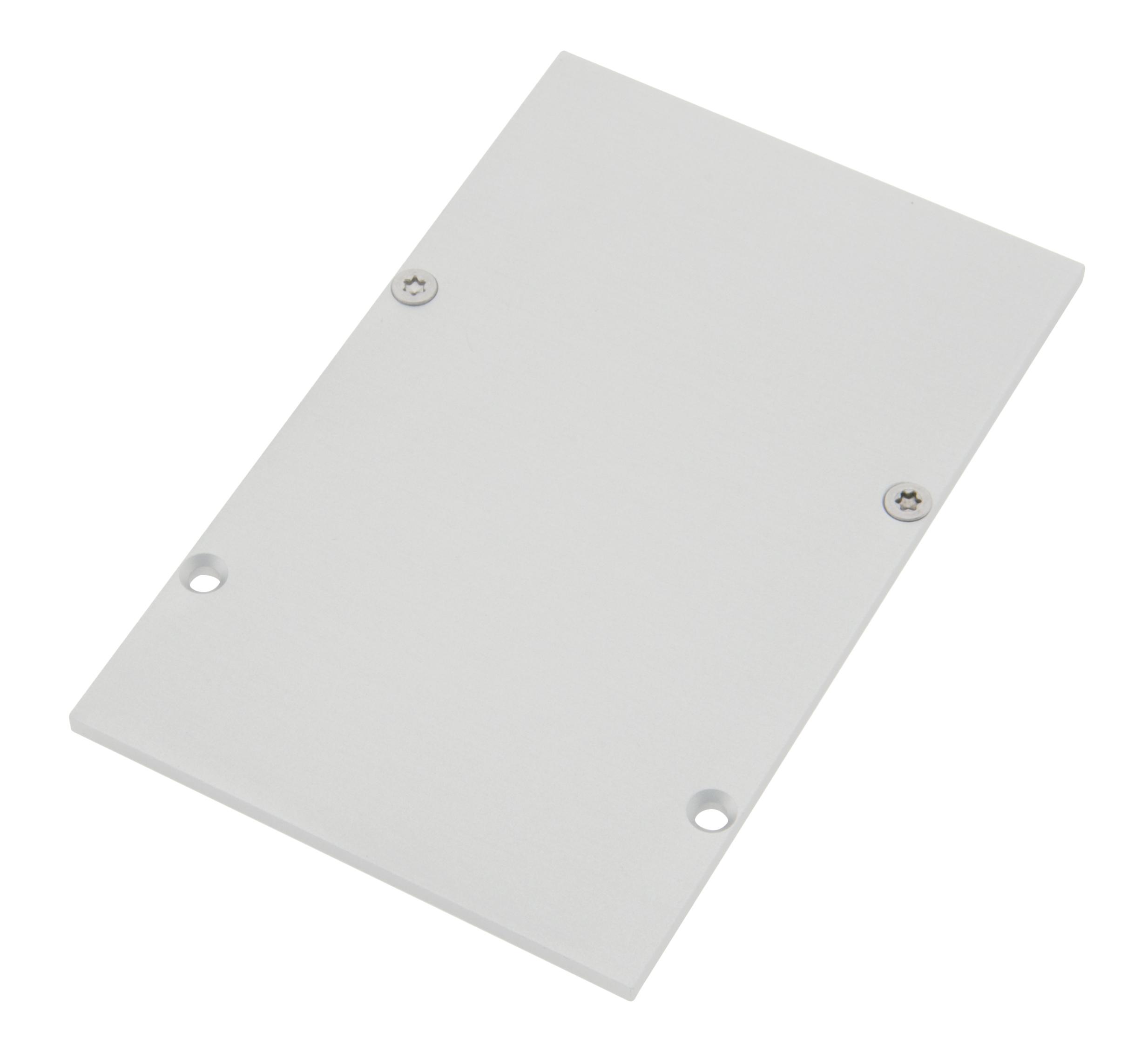 1 Stk Profil Endkappe SLH Eckig geschlossen inkl. Schrauben LIEK003420