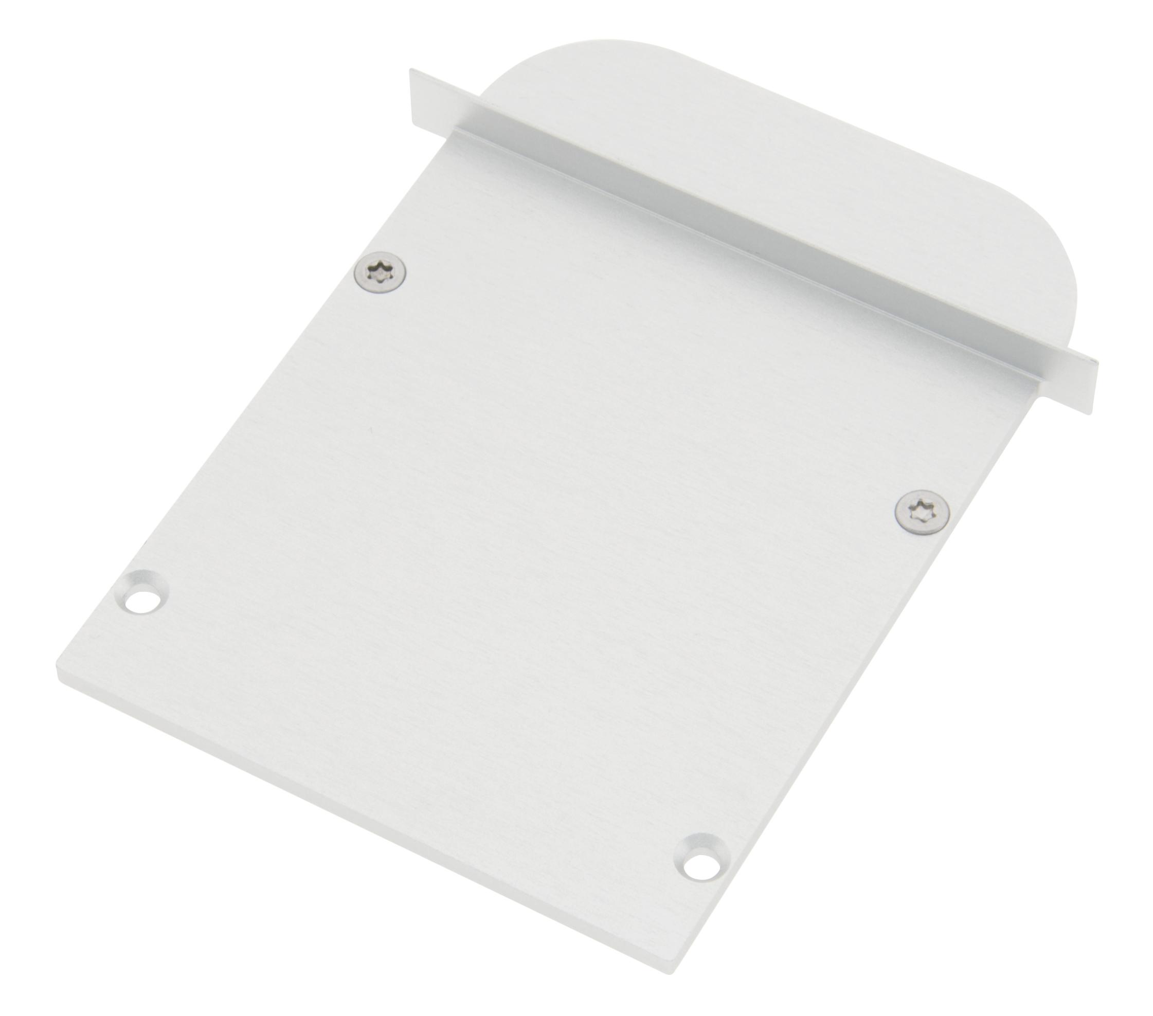 1 Stk Profil Endkappe SLT Rund geschlossen inkl. Schrauben LIEK003510