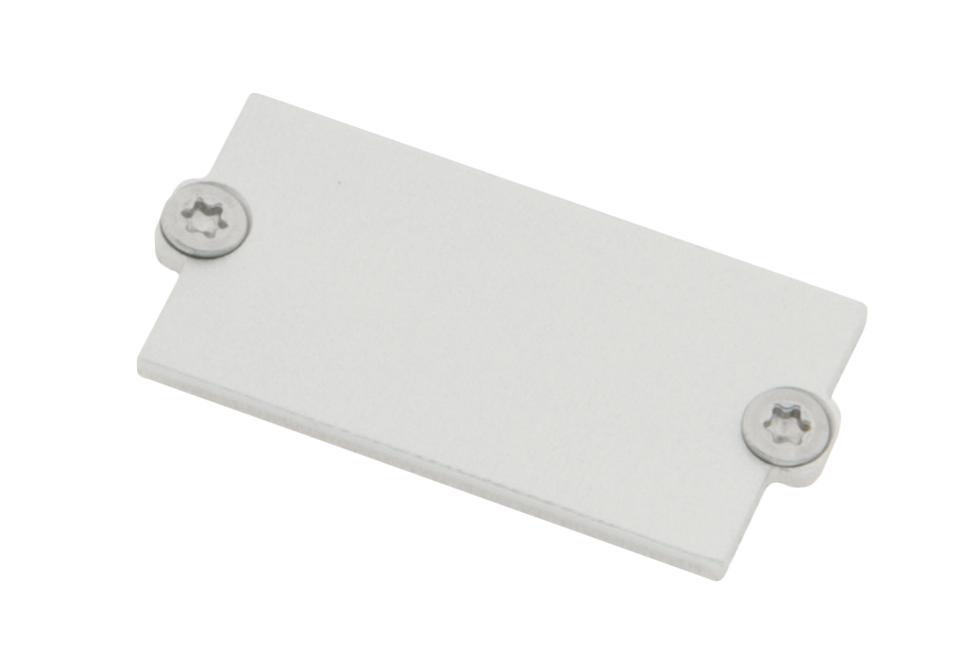 1 Stk Profil Endkappe MF Modul Einsatz geschlossen inkl. Schrauben LIEK005001