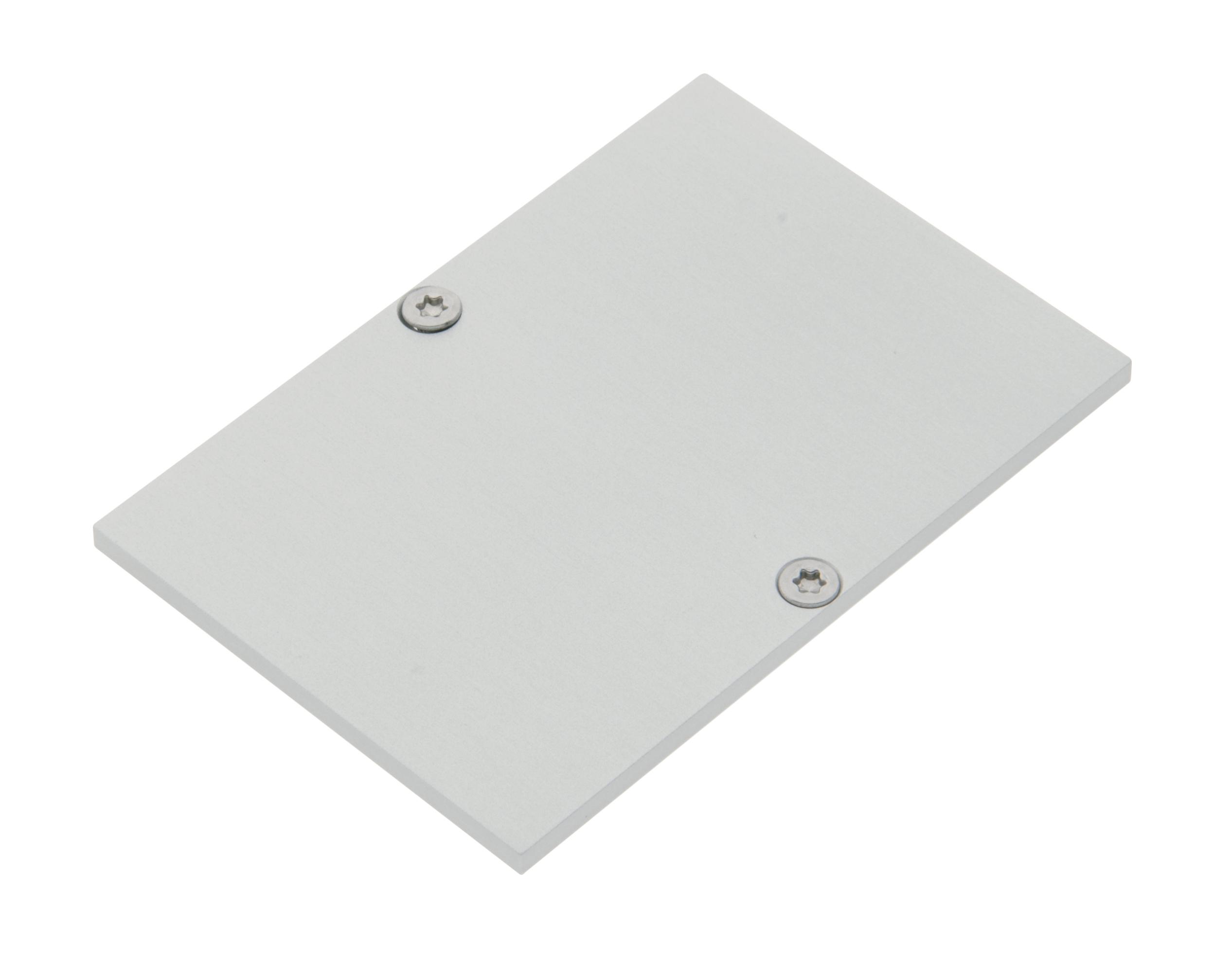 1 Stk Profil Endkappe MFH Flach geschlossen inkl. Schrauben LIEK005200