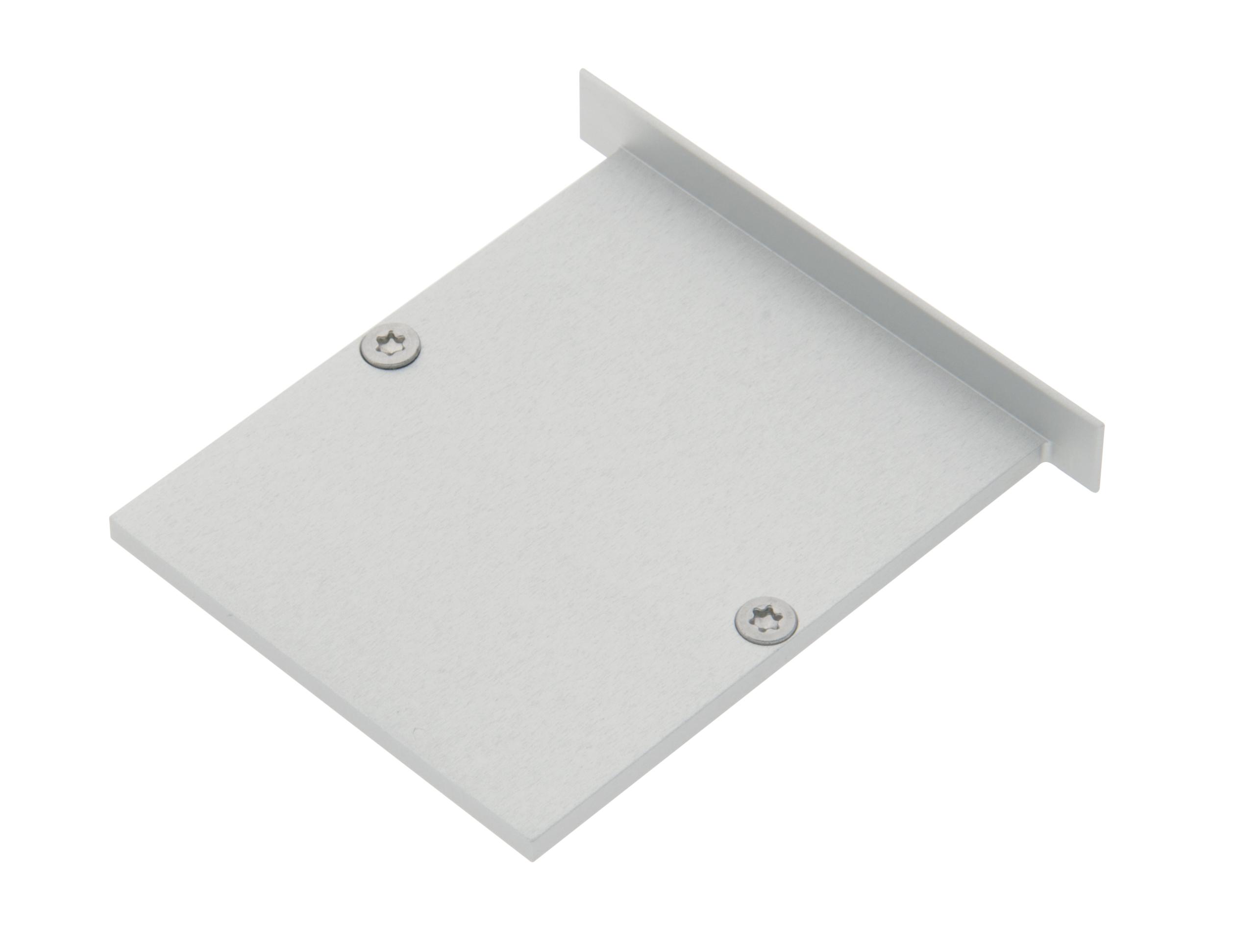 1 Stk Profil Endkappe MFI Flach geschlossen inkl. Schrauben LIEK005300