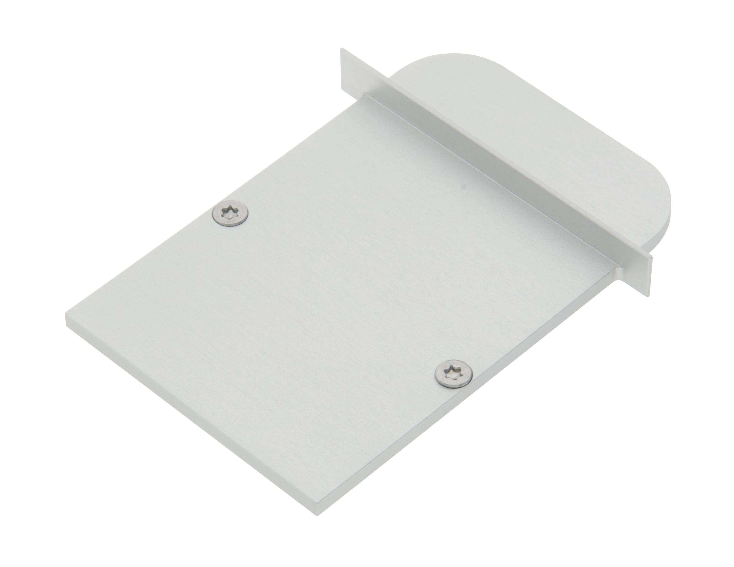 1 Stk Profil Endkappe MFI Rund geschlossen inkl. Schrauben LIEK005310