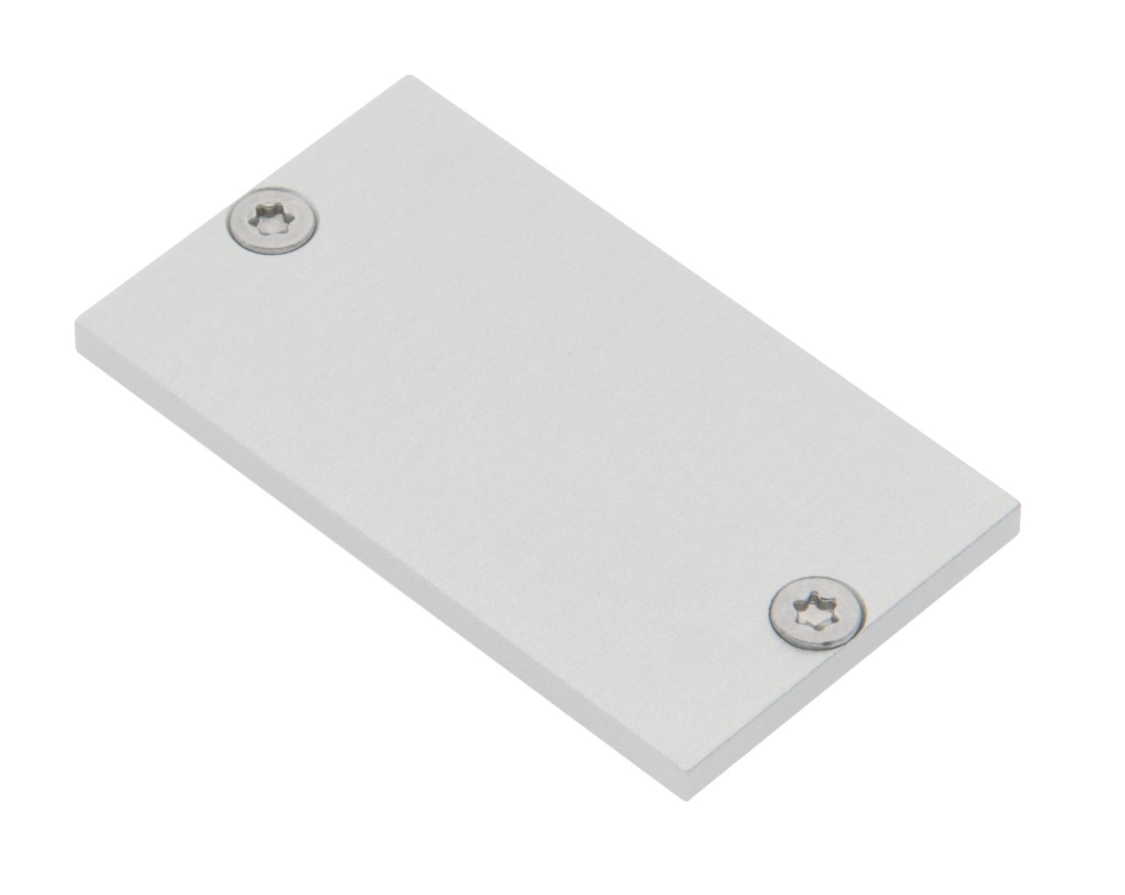 1 Stk Profil Endkappe MFL Flach geschlossen inkl. Schrauben LIEK005500
