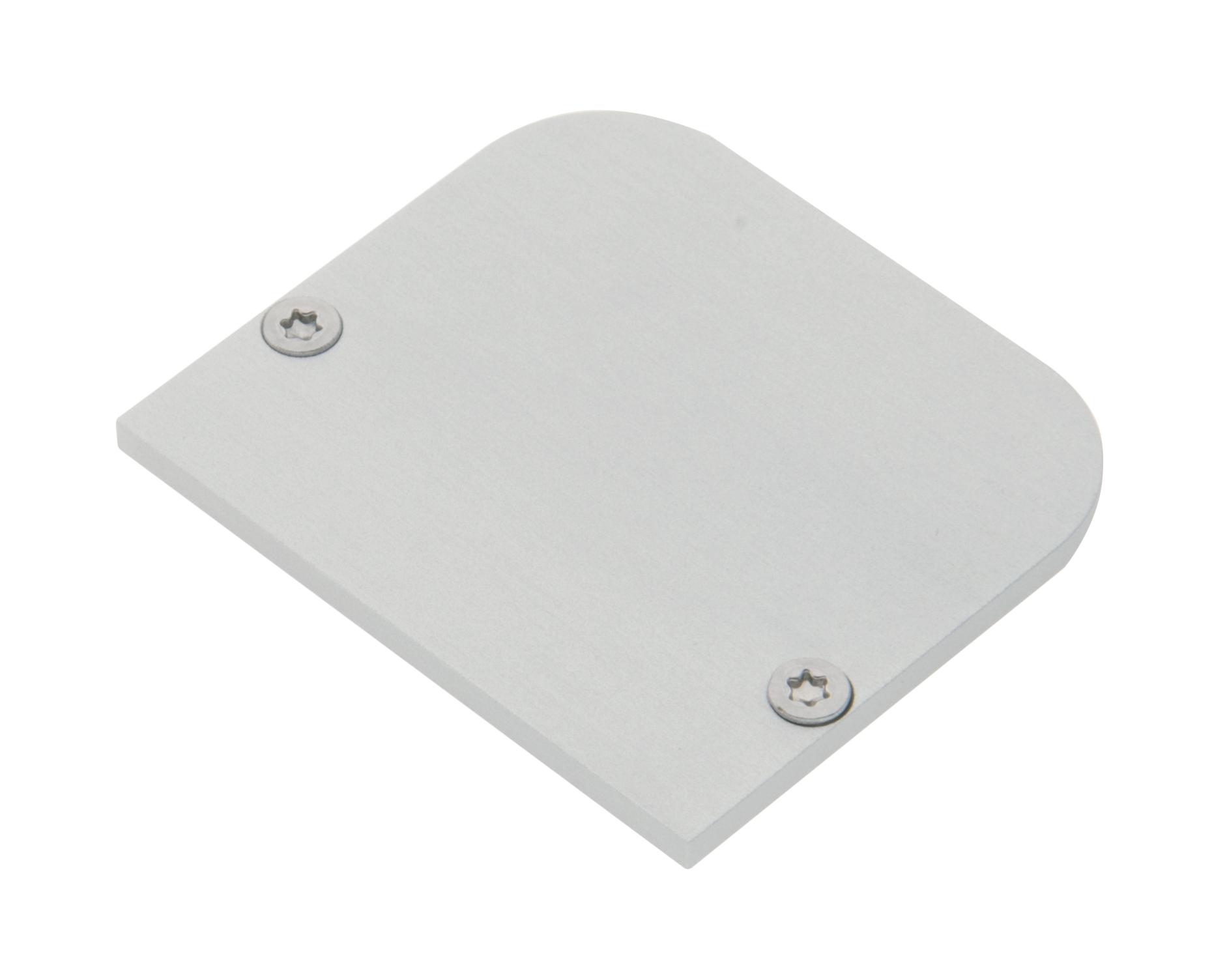 1 Stk Profil Endkappe MFL Rund geschlossen inkl. Schrauben LIEK005510