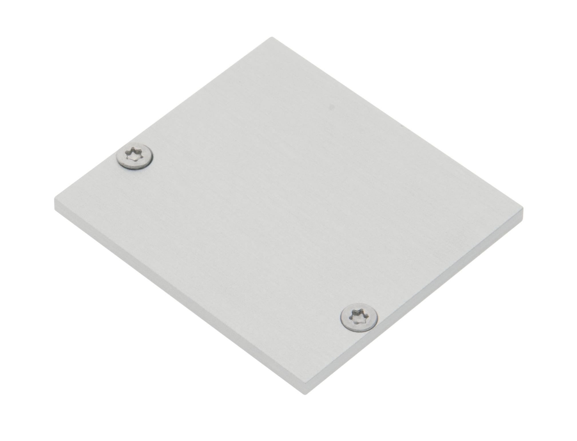 1 Stk Profil Endkappe MFL Eckig geschlossen inkl. Schrauben LIEK005520