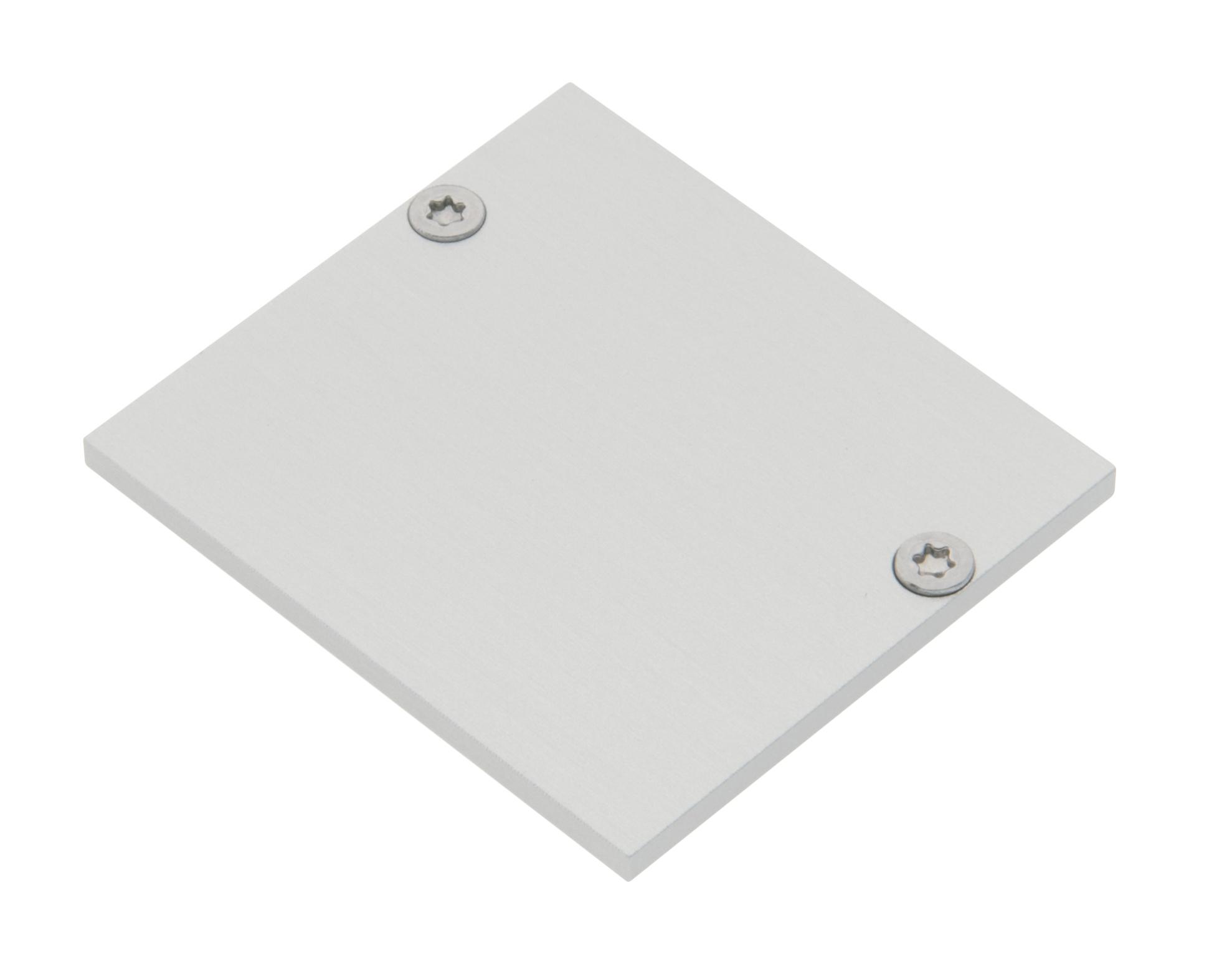 1 Stk Profil Endkappe MFS + MFL Flach geschlossen inkl. Schrauben LIEK005605