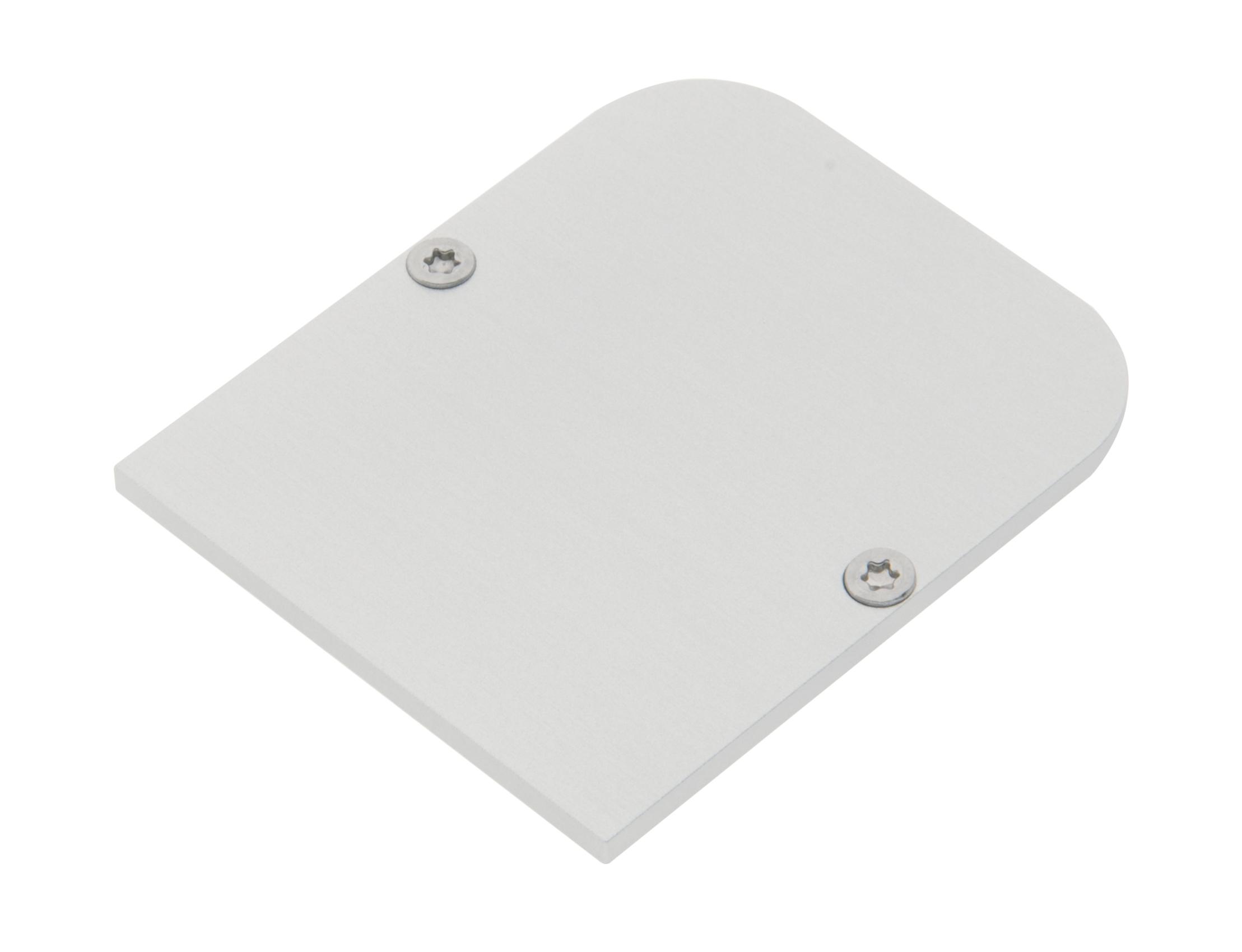 1 Stk Profil Endkappe MFS + MFL Rund geschlossen inkl. Schrauben LIEK005615