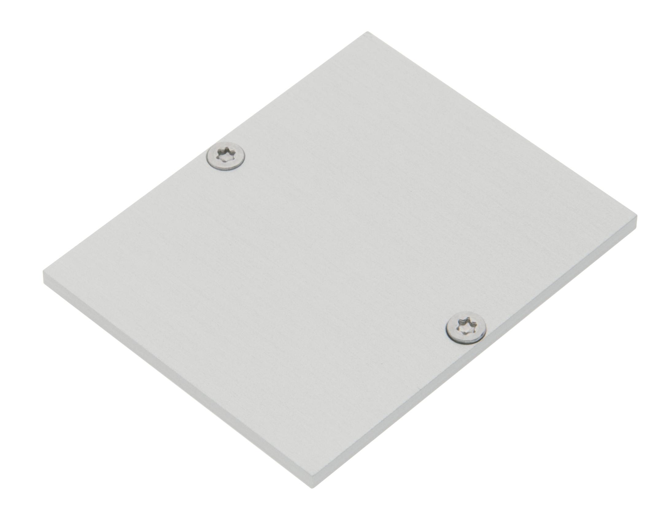 1 Stk Profil Endkappe MFS + MFL Eckig geschlossen inkl. Schrauben LIEK005625