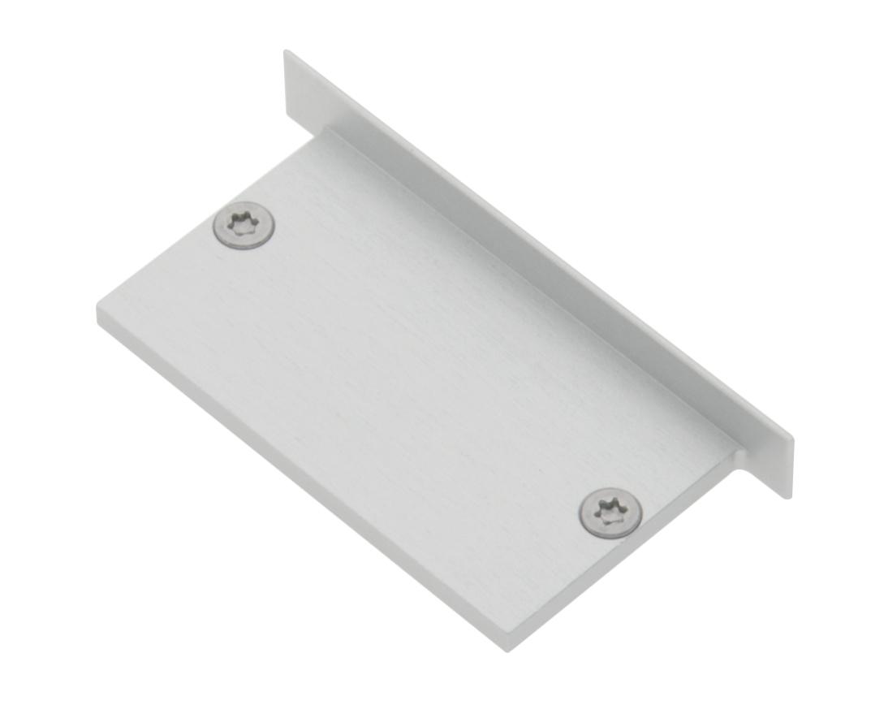 1 Stk Profil Endkappe MFJ Flach geschlossen inkl. Schrauben LIEK005900