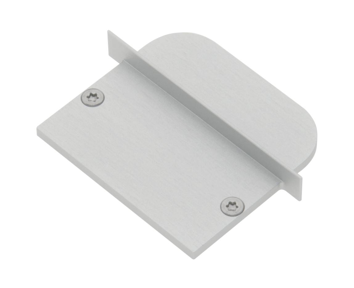 1 Stk Profil Endkappe MFJ Rund geschlossen inkl. Schrauben LIEK005910