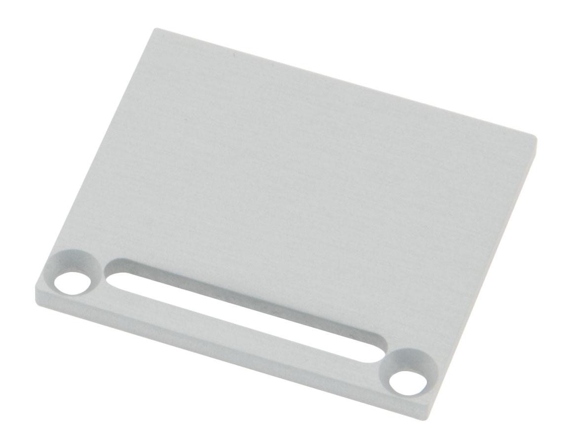 1 Stk Profil Endkappe CLF Eckig mit Langloch inkl. Schrauben LIEK006121