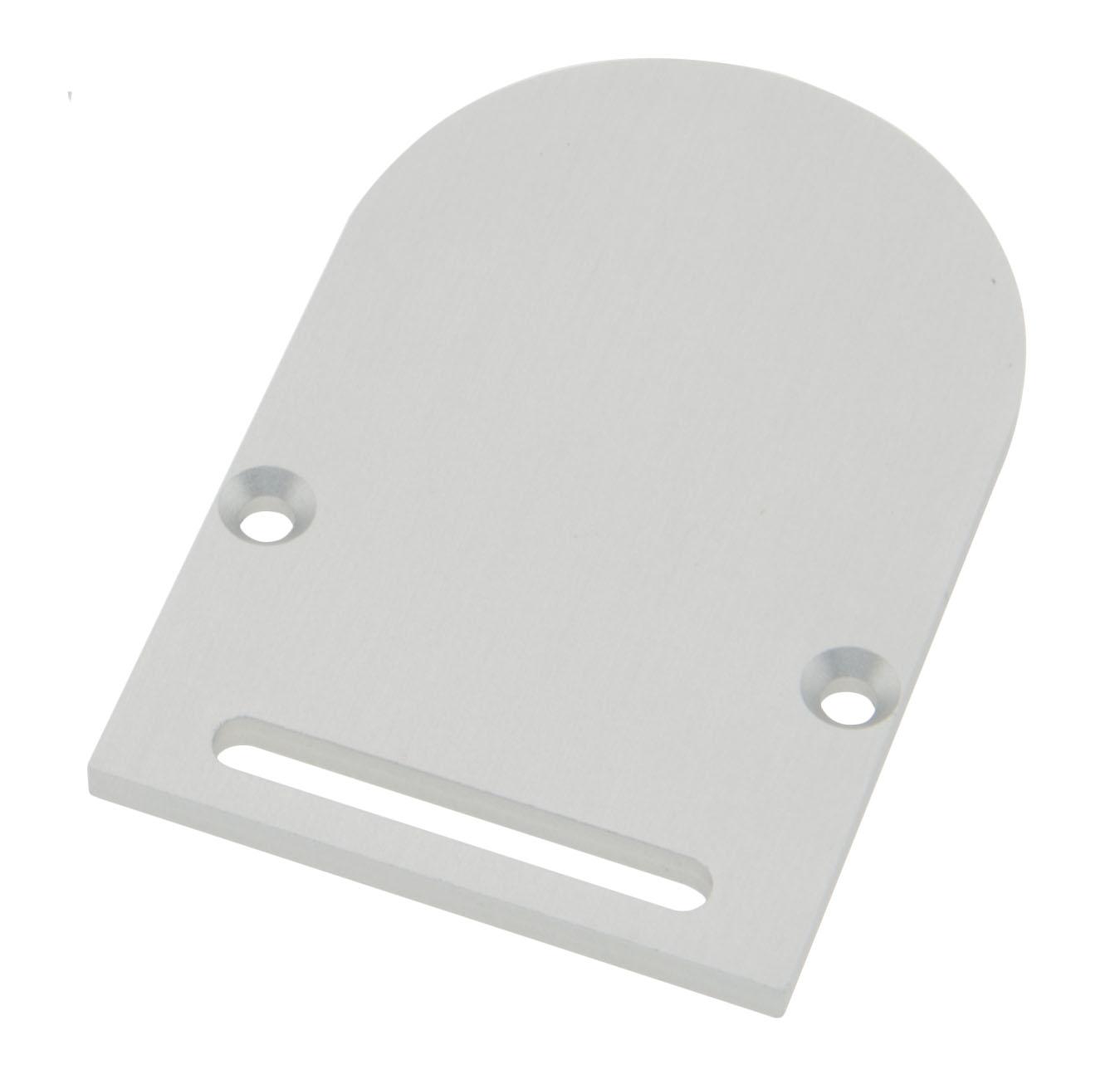 Profil Endkappe CLR Rund mit Langloch inkl. Schrauben