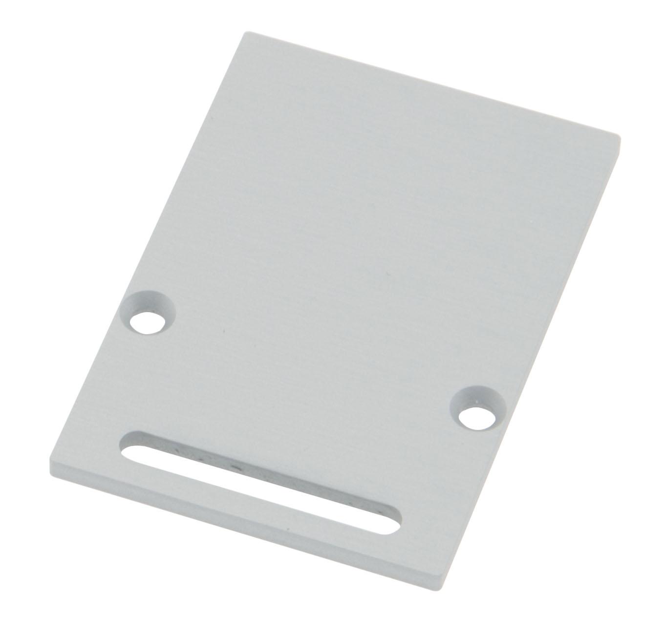 1 Stk Profil Endkappe CLR Eckig mit Langloch inkl. Schrauben LIEK006221