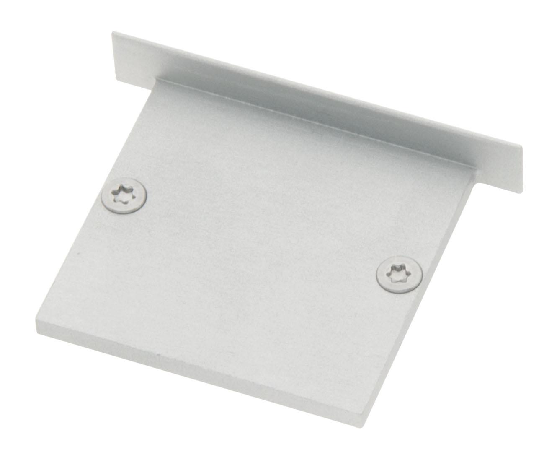 Profil Endkappe CLI Flach geschlossen inkl. Schrauben