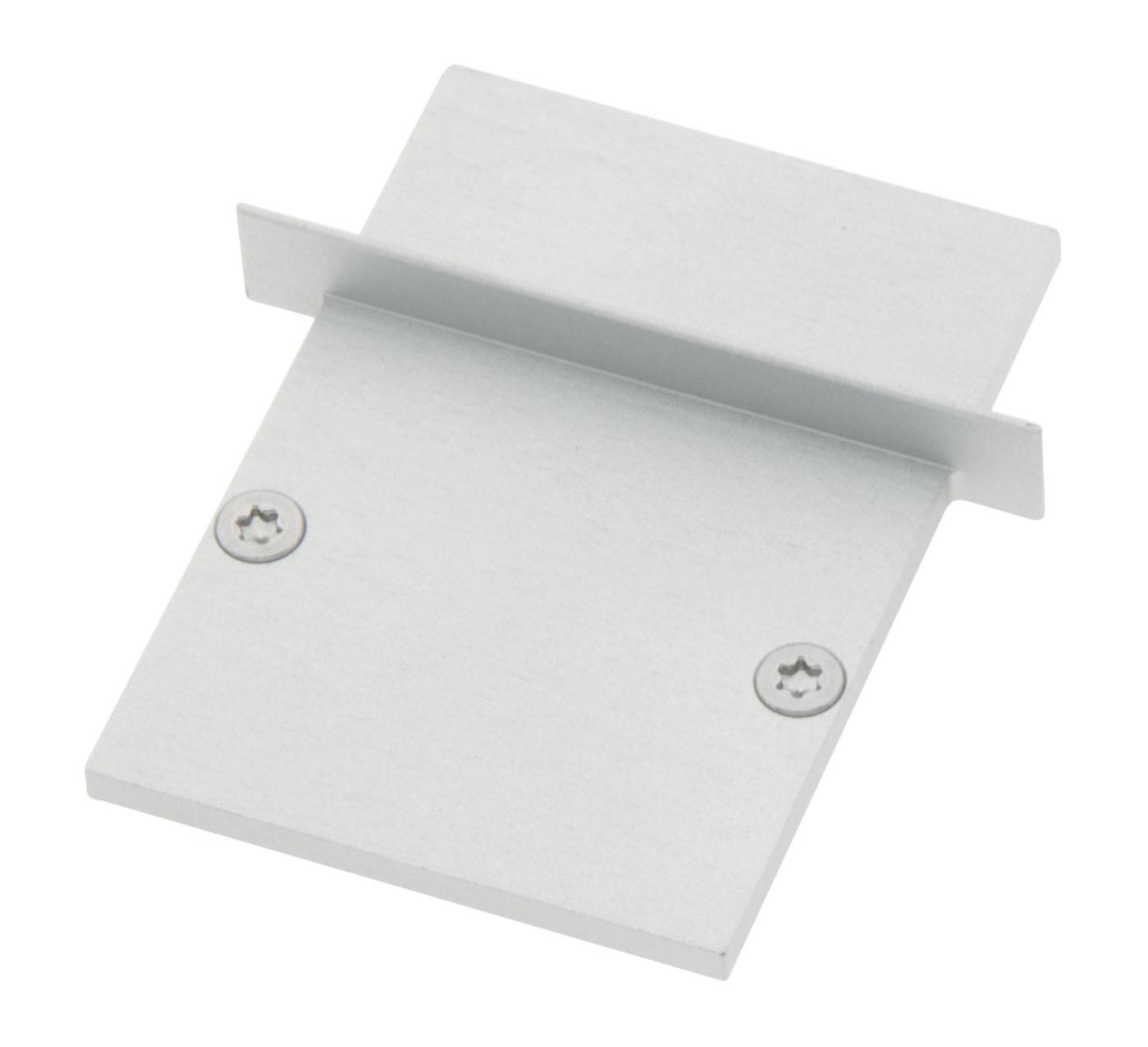 1 Stk Profil Endkappe CLI Eckig geschlossen inkl. Schrauben LIEK006320