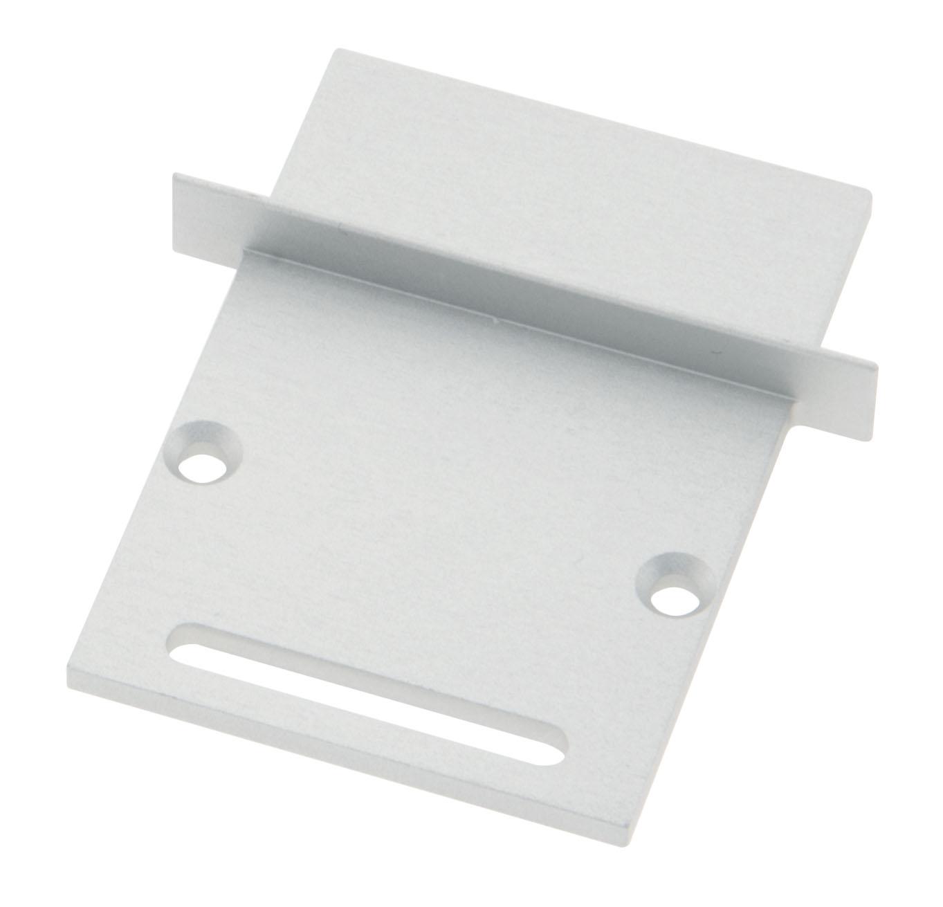1 Stk Profil Endkappe CLI Eckig mit Langloch inkl. Schrauben LIEK006321