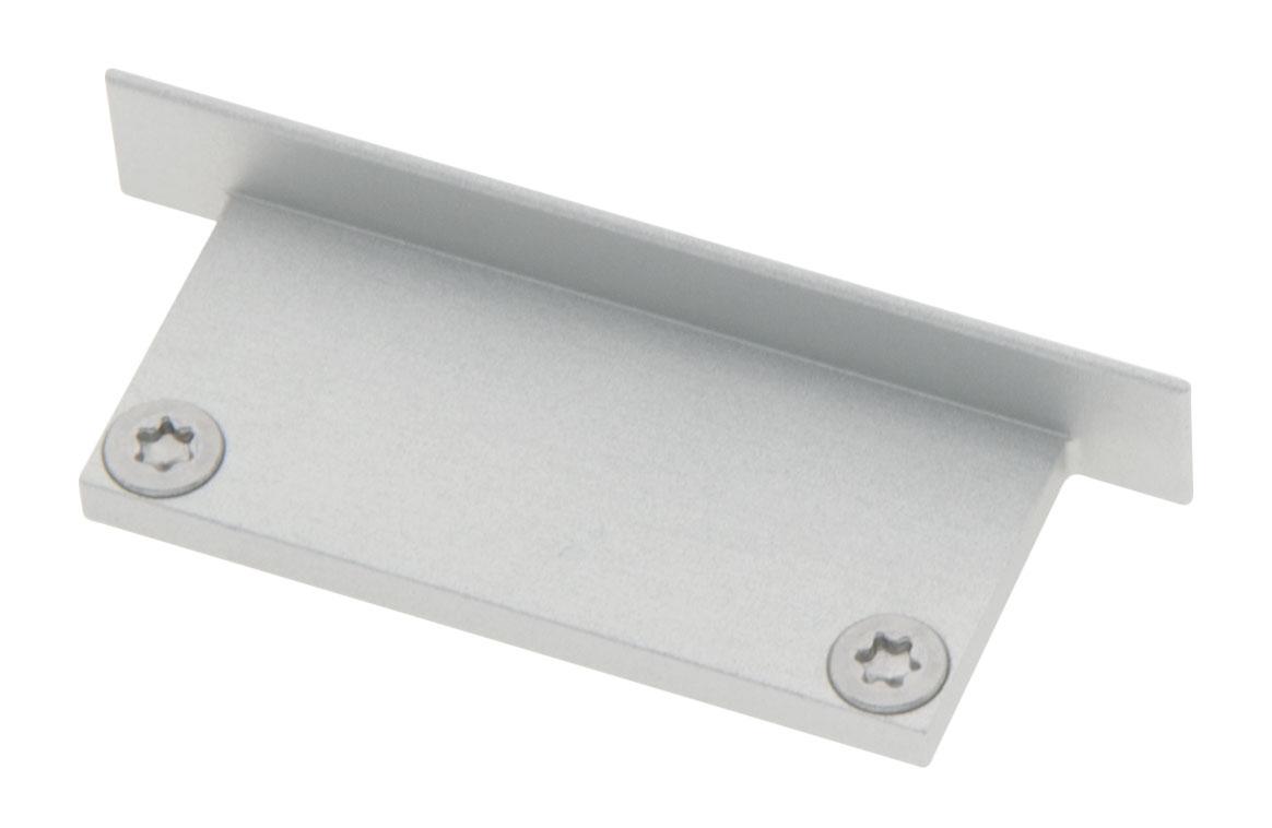 1 Stk Profil Endkappe CLU Flach geschlossen inkl. Schrauben LIEK006400