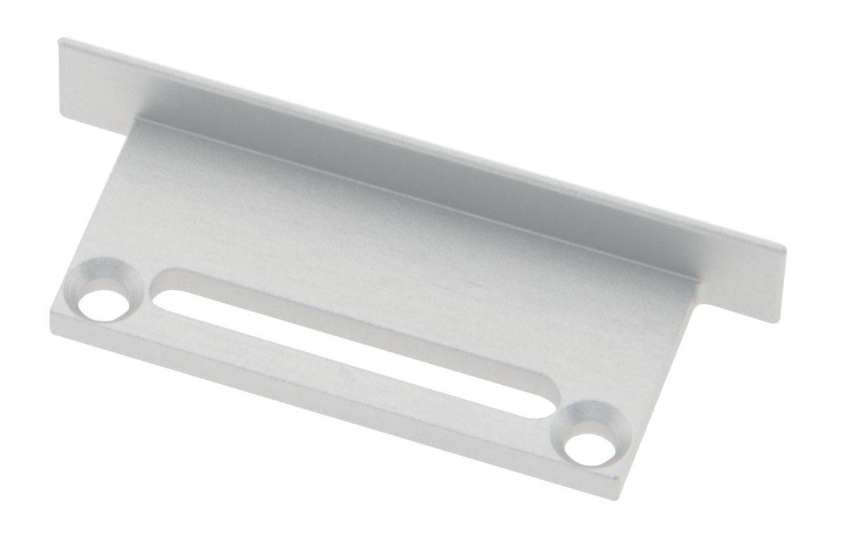 1 Stk Profil Endkappe CLU Flach mit Langloch inkl. Schrauben LIEK006401