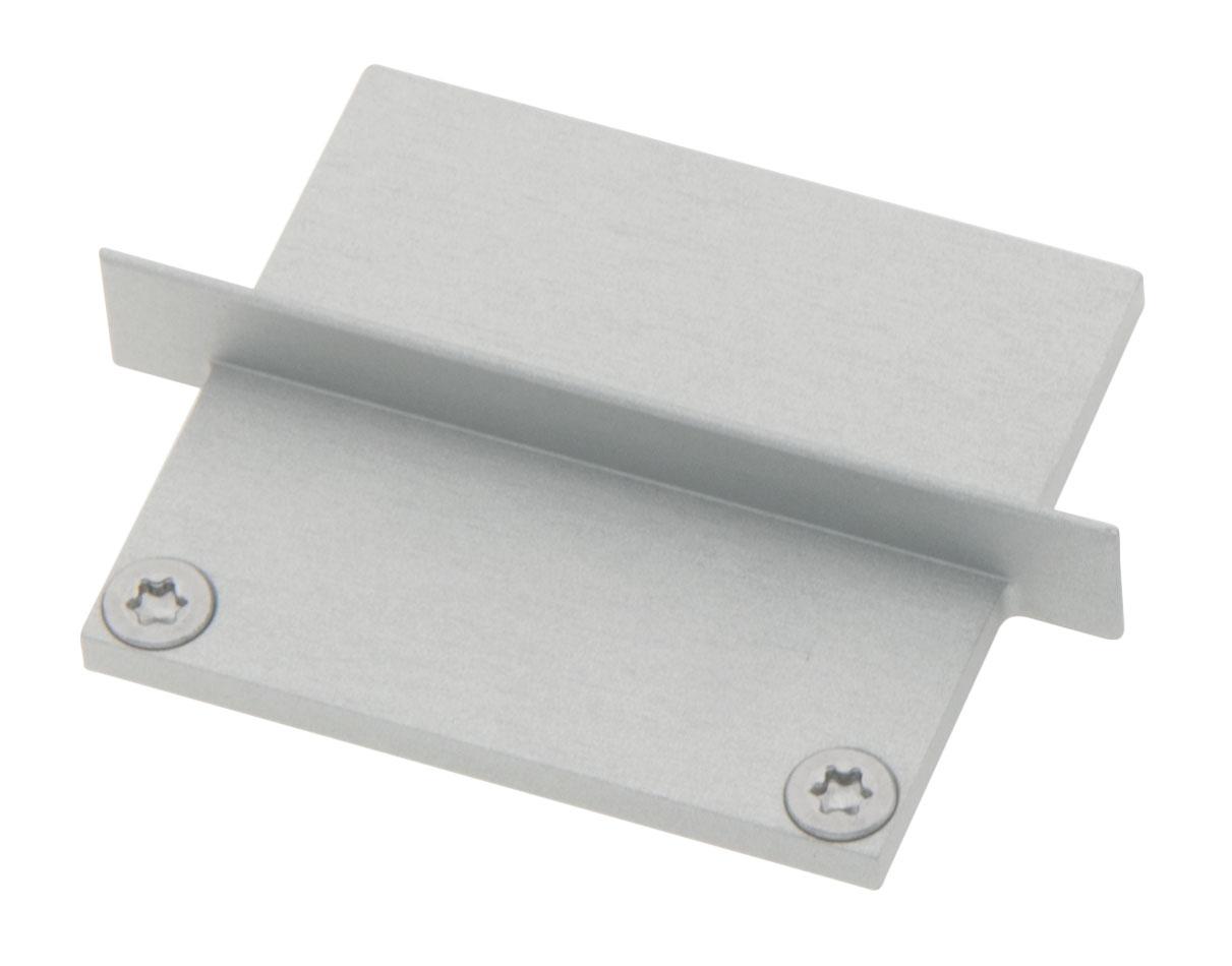 1 Stk Profil Endkappe CLU Eckig geschlossen inkl. Schrauben LIEK006420