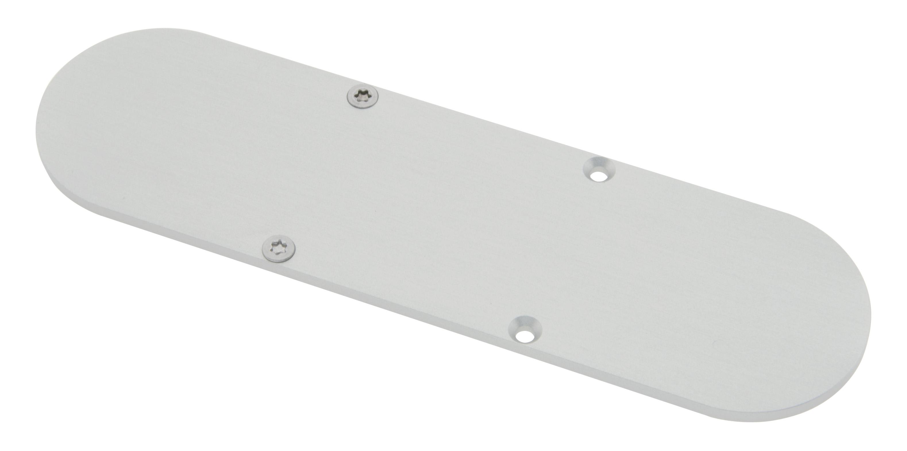 1 Stk Profil Endkappe CLW Rund geschlossen inkl. Schrauben LIEK006510