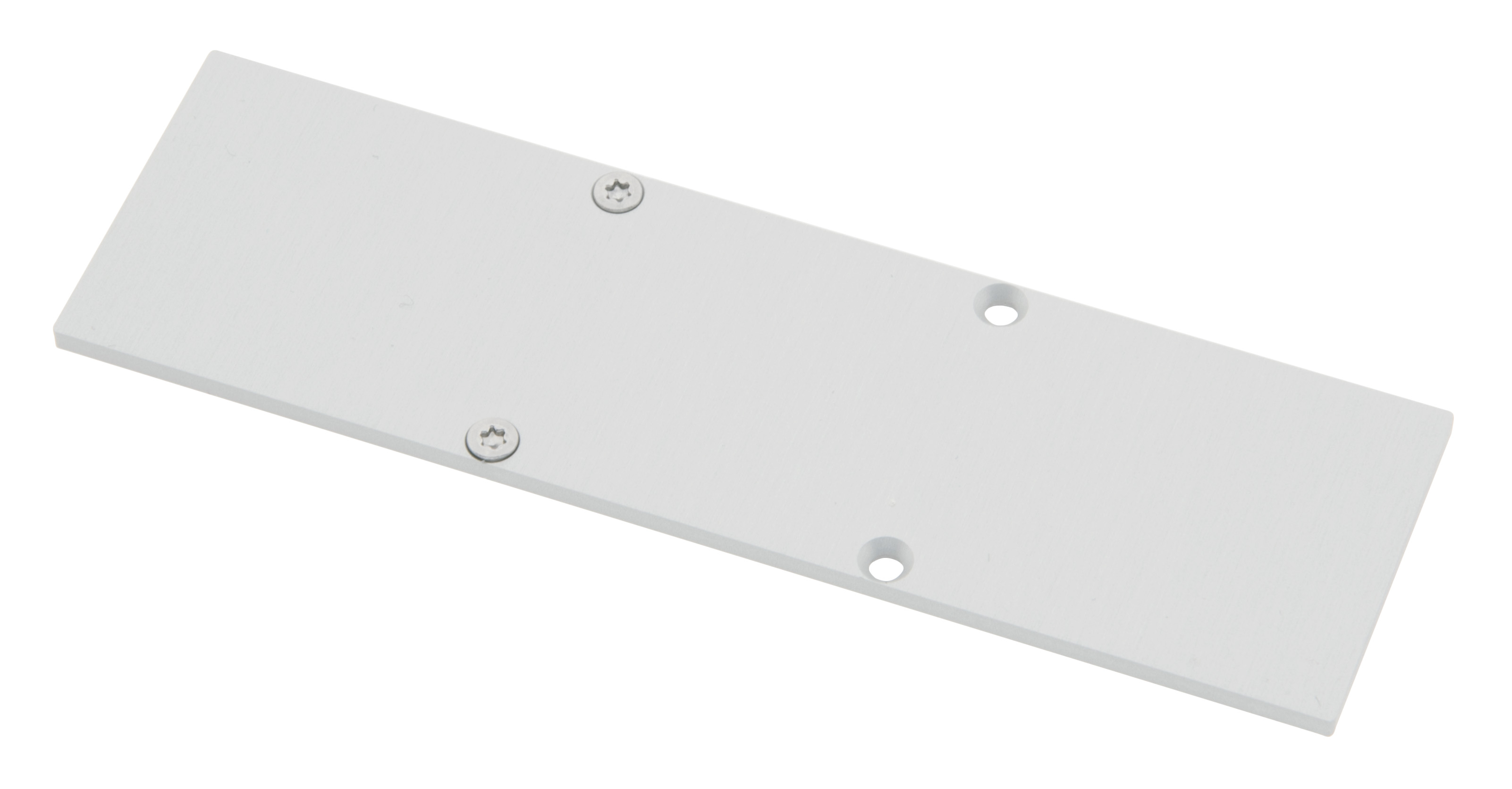 1 Stk Profil Endkappe CLW Eckig geschlossen inkl. Schrauben LIEK006520