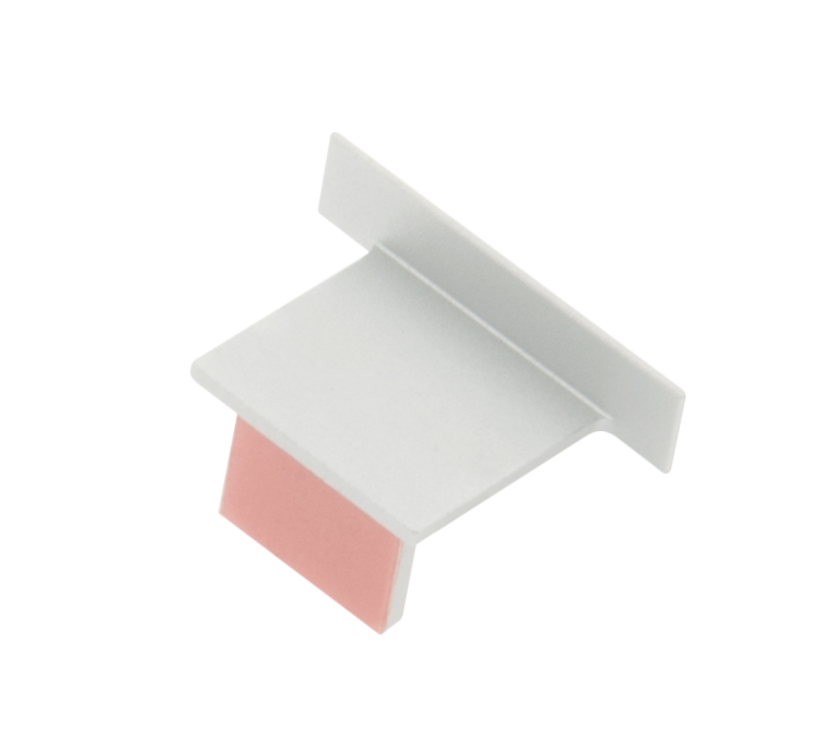 1 Stk Profil Endkappe KLI Flach geschlossen LIEK008200