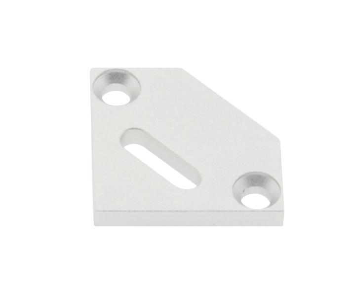 1 Stk Profil Endkappe KLE Flach mit Langloch LIEK008301