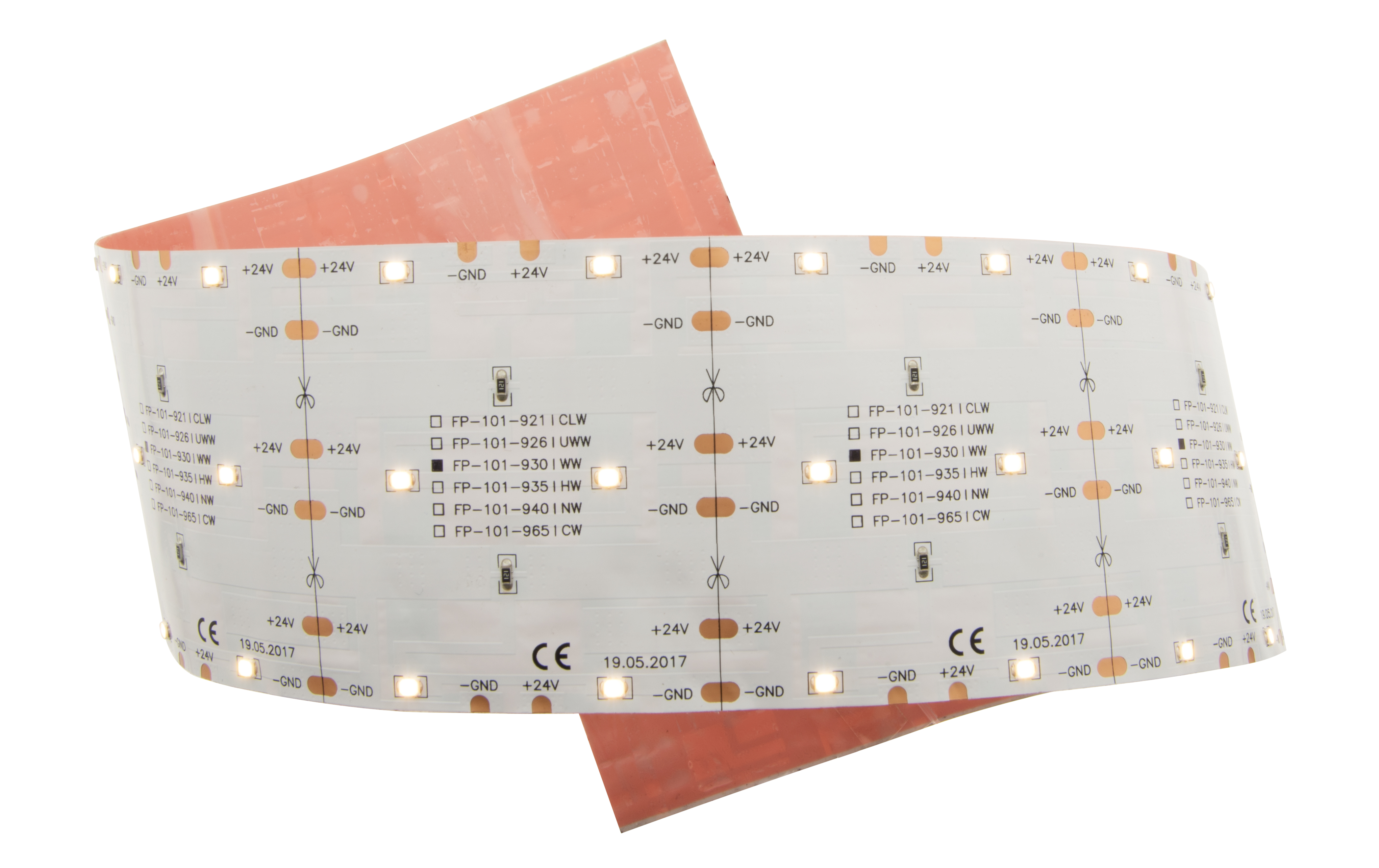 1 Stk LED Flexboard 7 CLW (Candle Light Weiss) - IP20, CRI/RA 90+ LIFP101921