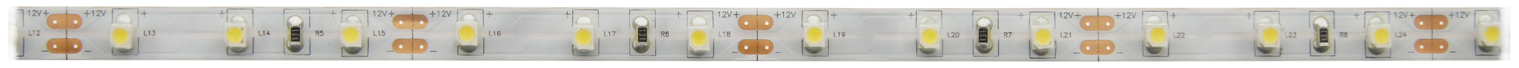 1 Stk FS 24, HW, Ra=90+, 7W/m, 520lm/m, 12VDC, IP44, l=5m LIFS001010