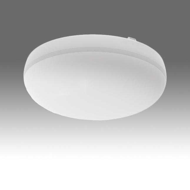 SLAVO 260 10W 750lm/830 EVG IP54 weiß mit Bewegungsmelder