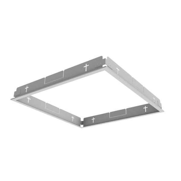 1 Stk Einbaurahmen für Gipskarton Selena LED 595x595 weiß LIG1000605