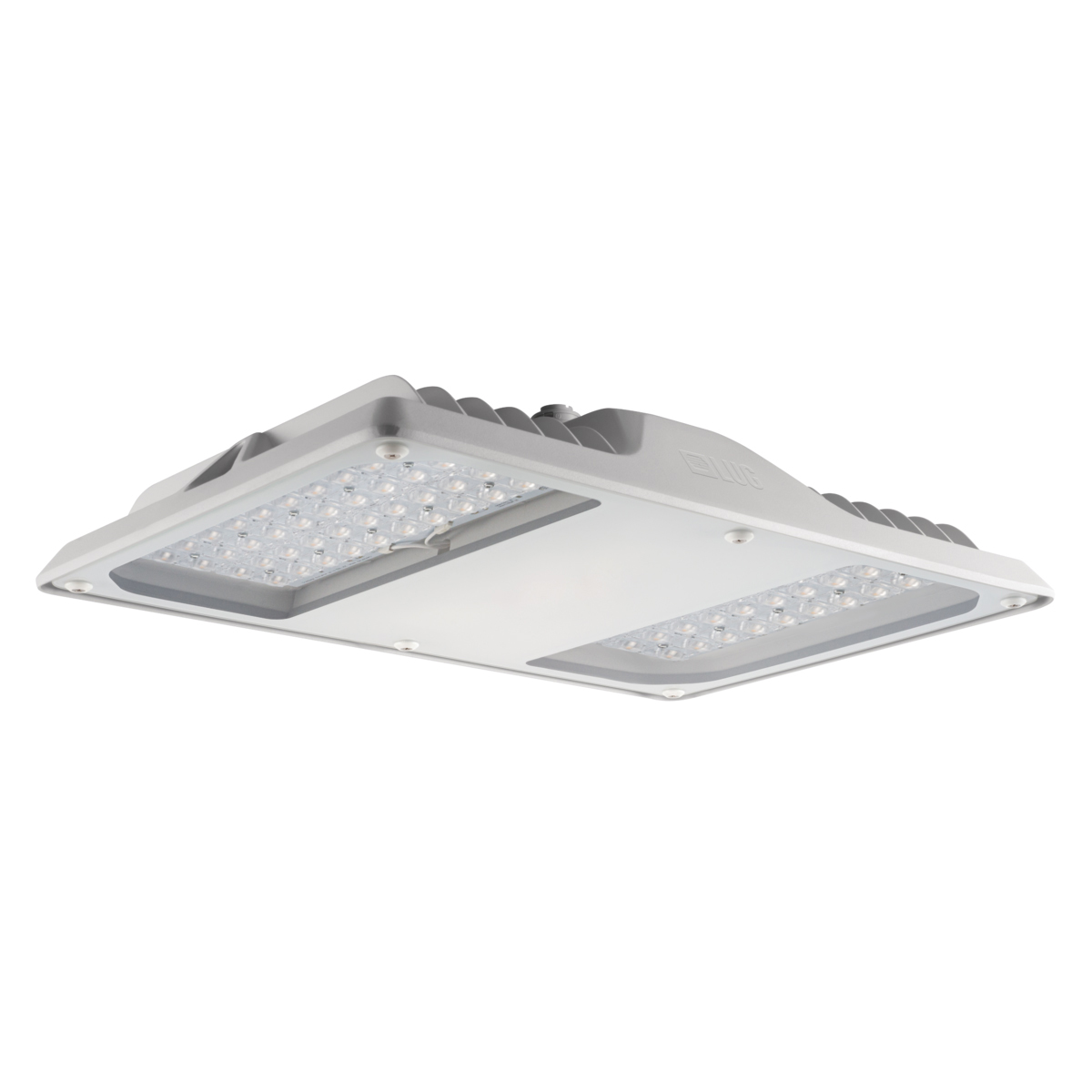 1 Stk Arktur Square LED 105W 11800lm/840 EVG IP65 55° grau LIG2501011