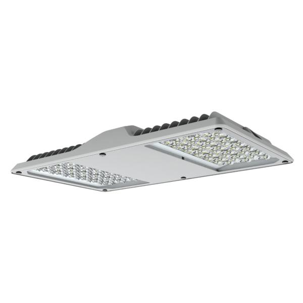 Arktur Square LED 141W 17300lm/757 EVG IP65 120x40° grau