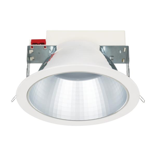 SEGON LED 18W ED 1900lm/830 MAT IP44 70° weiß GEN.2